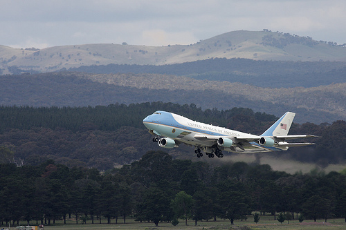 Air Force 1, Canberra, 2011